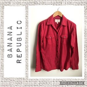 Banana Republic Soft Wash Button Down ❤️